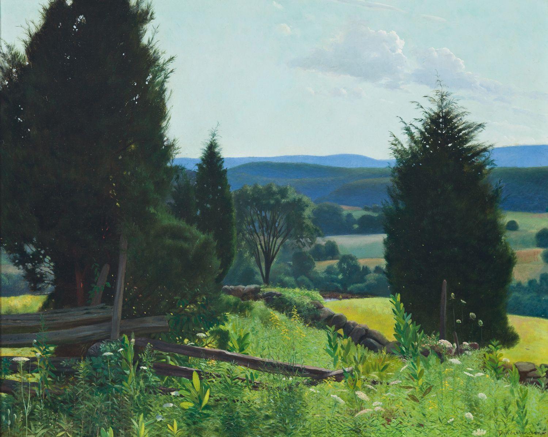 Valley in Summer, 1907