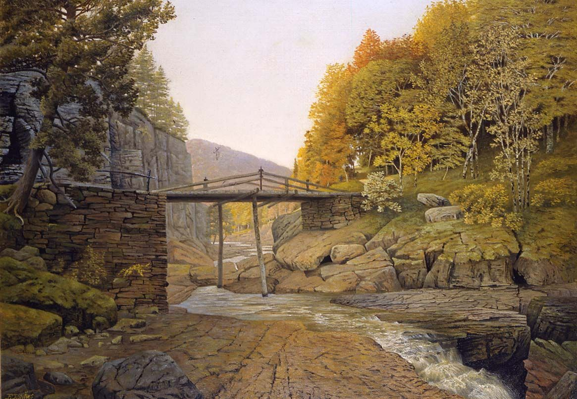 In the Catskills, 1891