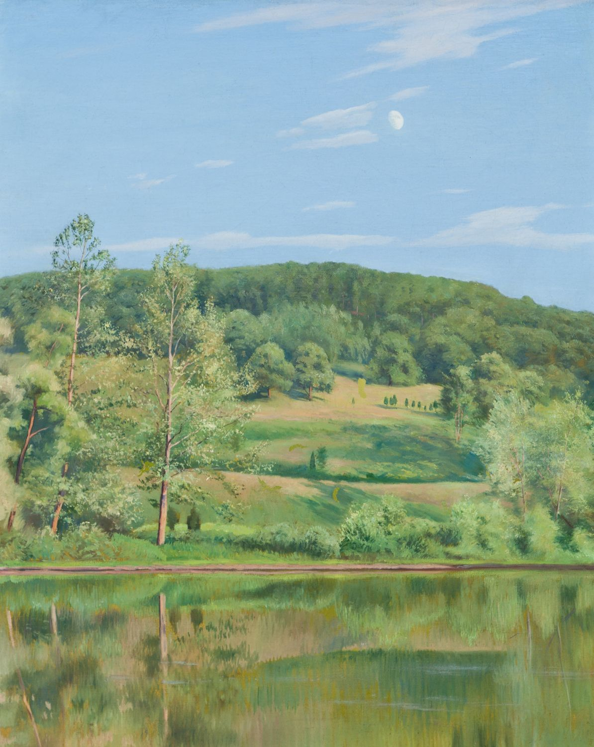 River Bank, Late Afternoon, 1907