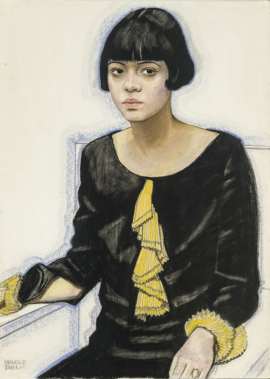 Winold Reiss (1886-1953), Portrait of Sari Patton, 1925