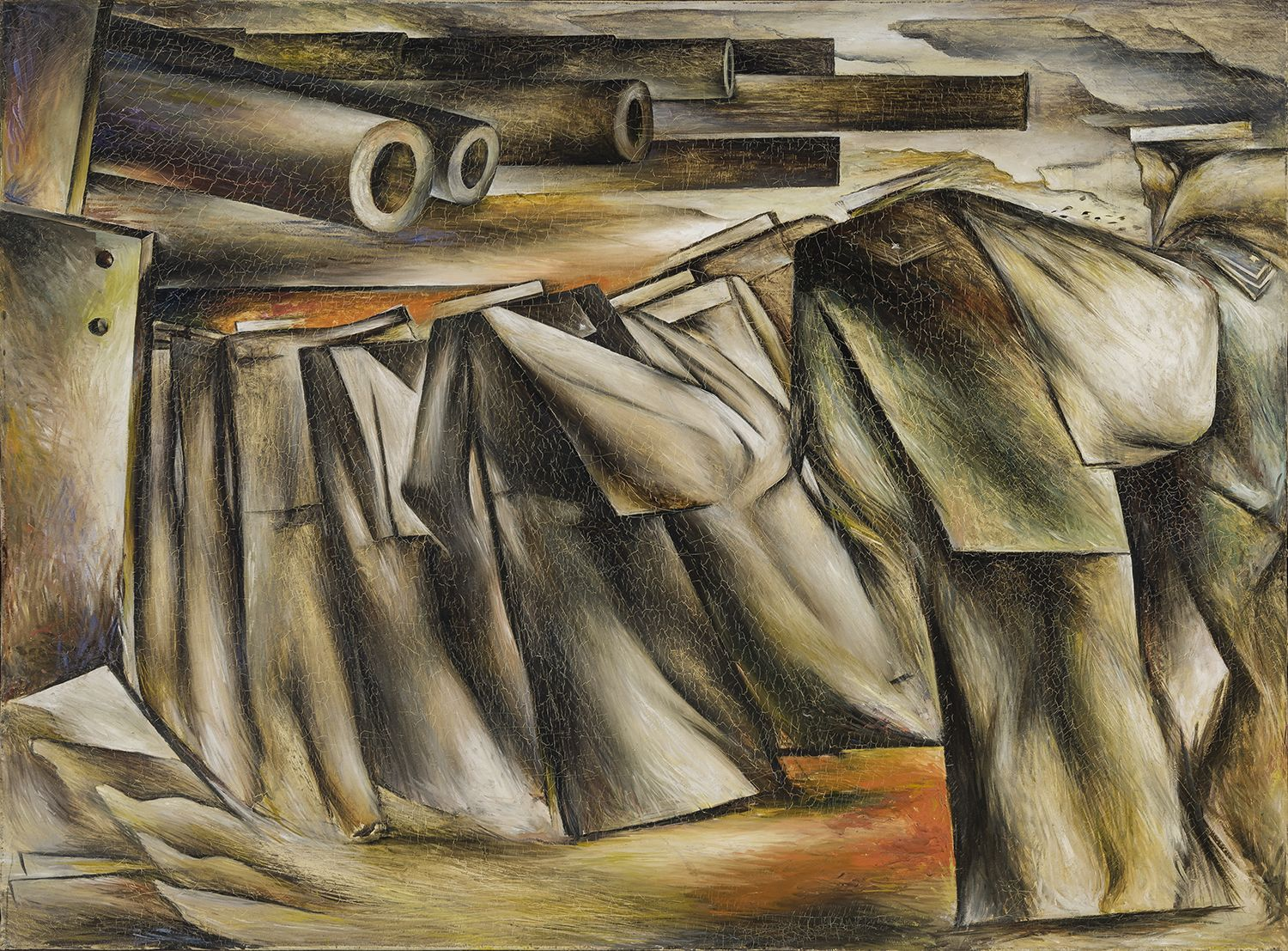 Embarkation, 1938, Oil on canvas, 36 x 44 3/8 in.