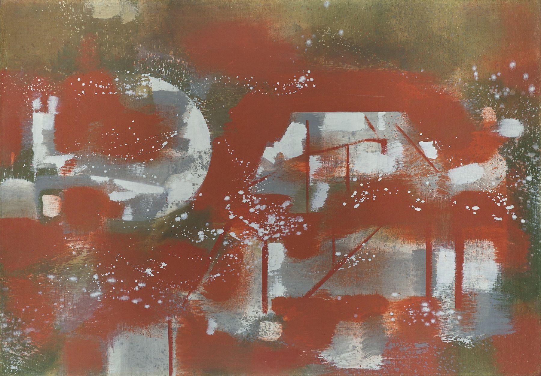 Carl Holty (1900-1973), Abstraction, circa 1952-1953