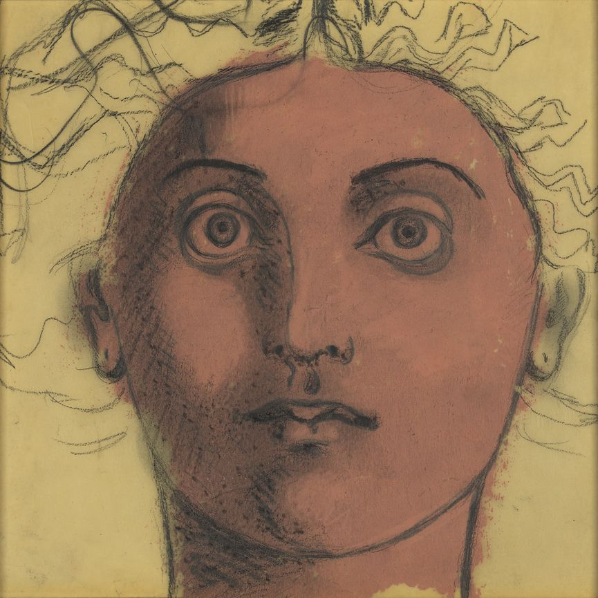 John D. Graham (1881-1961), Untitled (Head of Medusa), circa 1950s