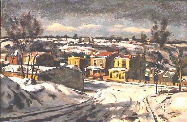 Giovanni Martino (1908-1998), Winter Morning, 1949