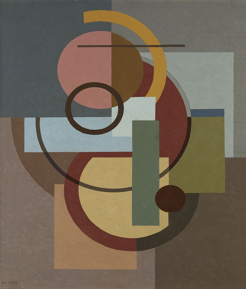 Paul Kelpe (1902-1985), Composition, 1927