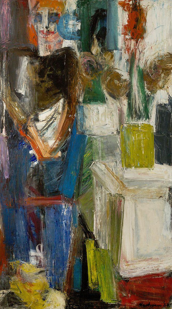 Grace Hartigan (1922-2008), Untitled, 1953