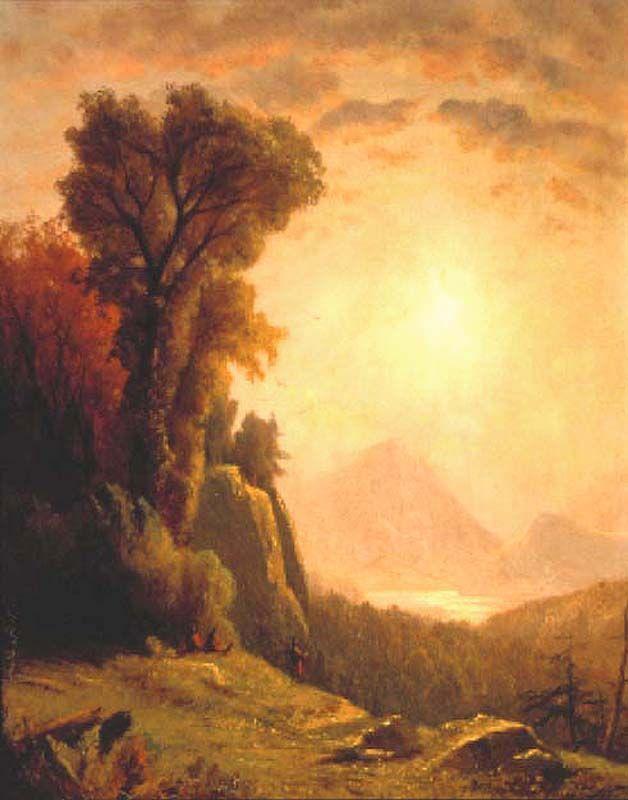 John Williamson (1826-1885), Fall in the Adirondacks, 1871