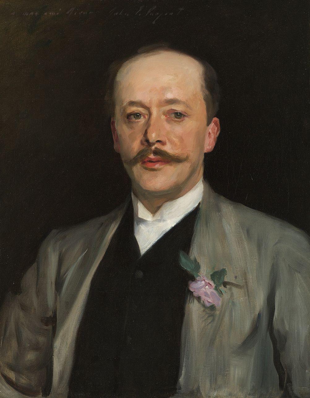 John Singer Sargent (1856-1925), Portrait of Charles Alexander Giron, circa 1884