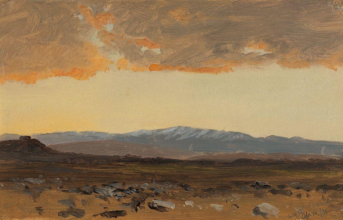 Lockwood de Forest (1850-1932), Buraq, Syria, 1876