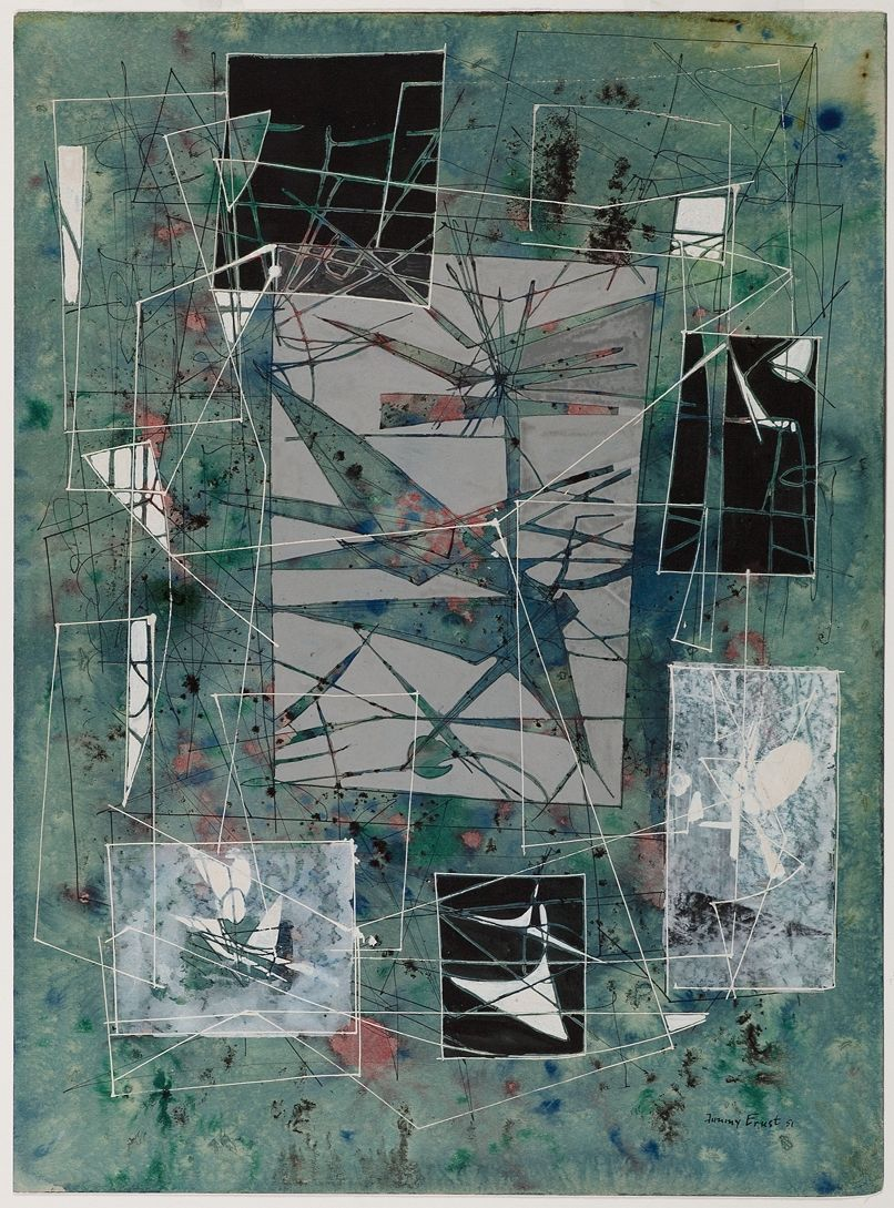 Jimmy Ernst (1920-1984), Summer Landscape, 1951