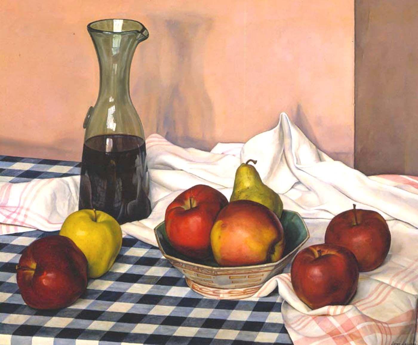 Luigi Lucioni (1900-1988), White with Variations, 1961