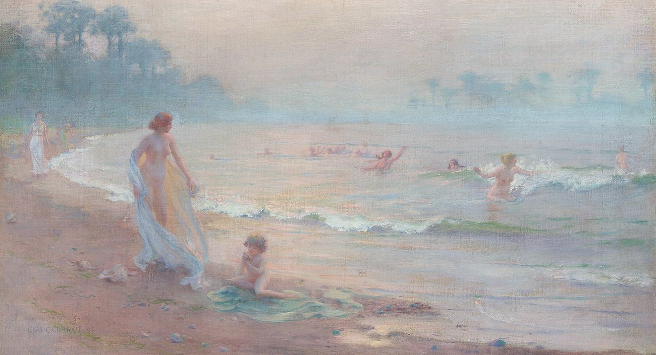 Charles Courtney Curran (1861-1942), The Enchanted Shore, 1895