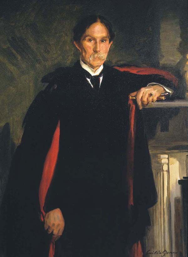 Cecilia Beaux (1855-1942), Portrait of Richard Watson Gilder