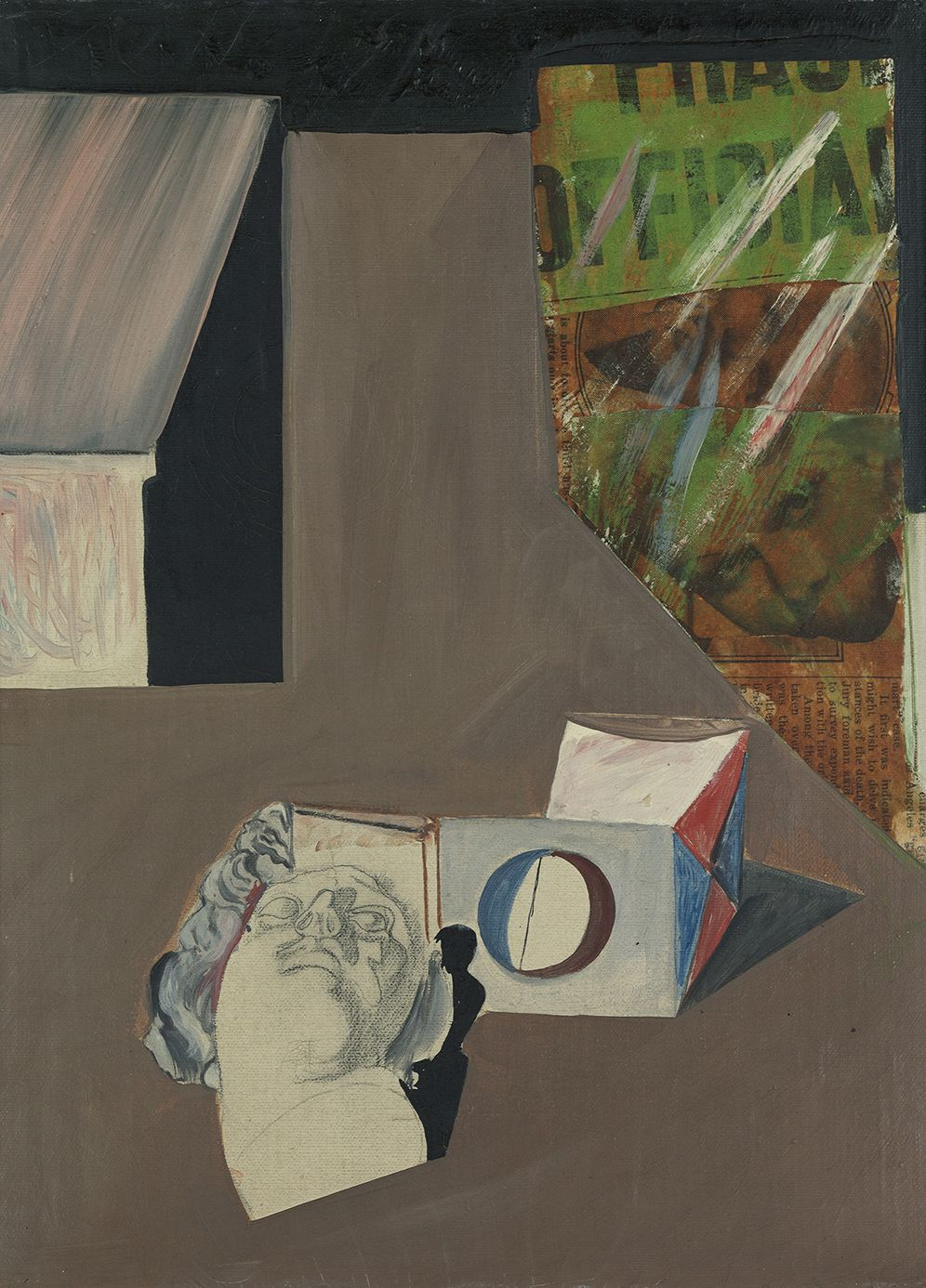 Ethel Schwabacher (1903-1984), Surrealist Composition, 1935