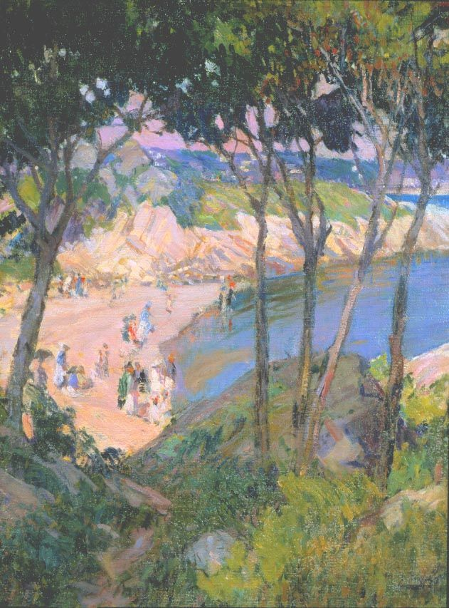 Mary Bradish Titcomb (1858-1928), Half Moon Beach
