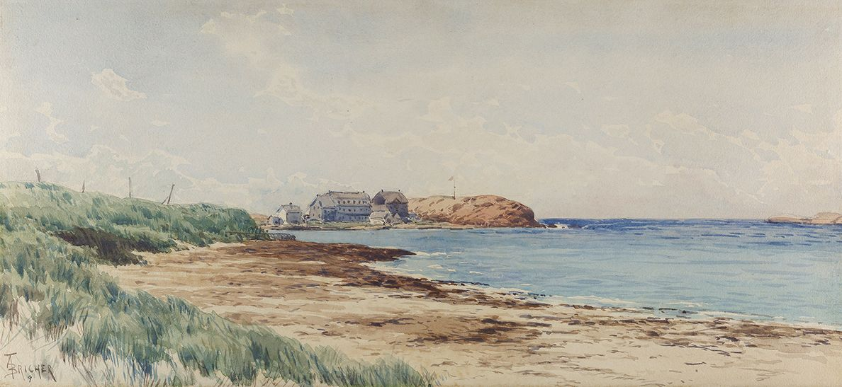 Alfred Thompson Bricher (1837-1908), Coastal Scene, circa 1880