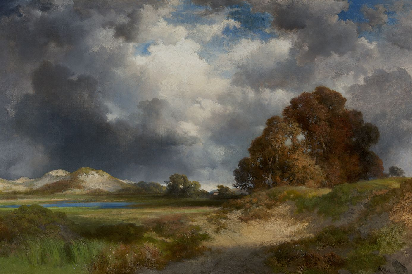 Thomas Moran (1837-1926), East Hampton, 1916