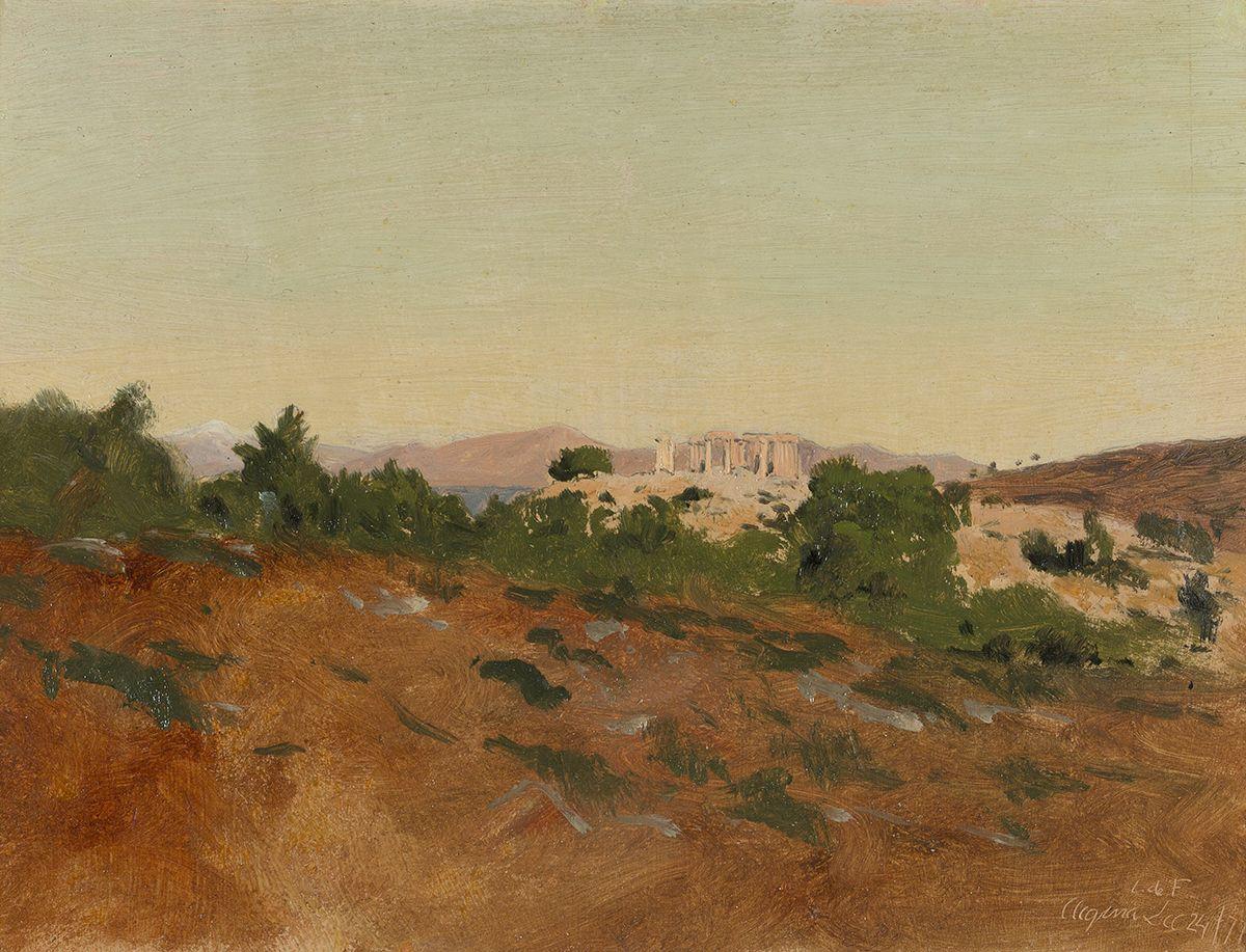 Lockwood de Forest (1850-1932), Aegina, 1871