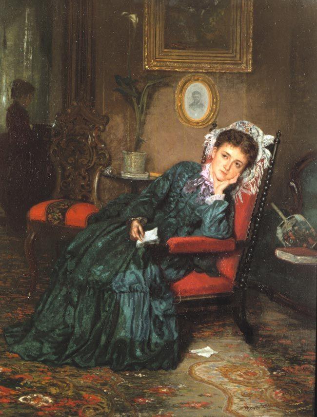 Thomas Hovenden (1840-1895), Reverie