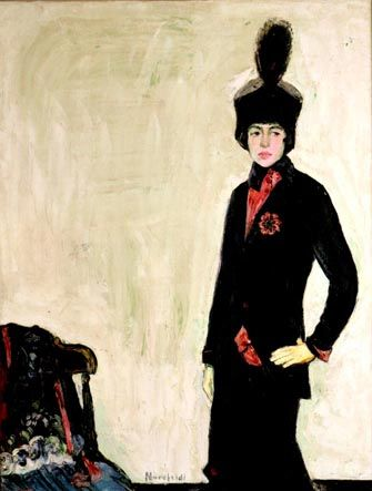 Bror Julius Olsson Nordfeldt (1878-1955), Miss Mary Randolph, 1911