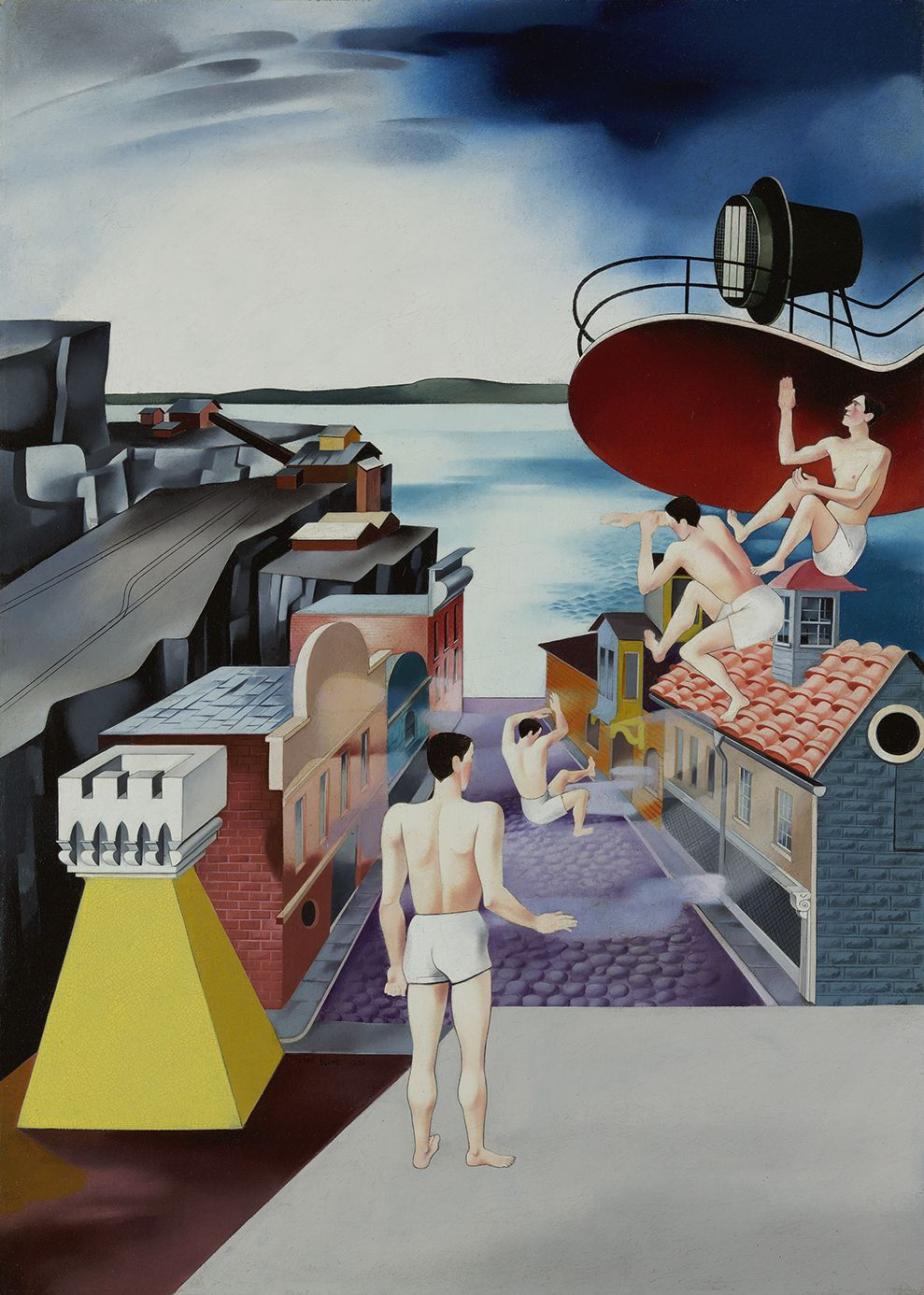 Peter Blume (1906-1992), Study for 'South of Scranton', 1930