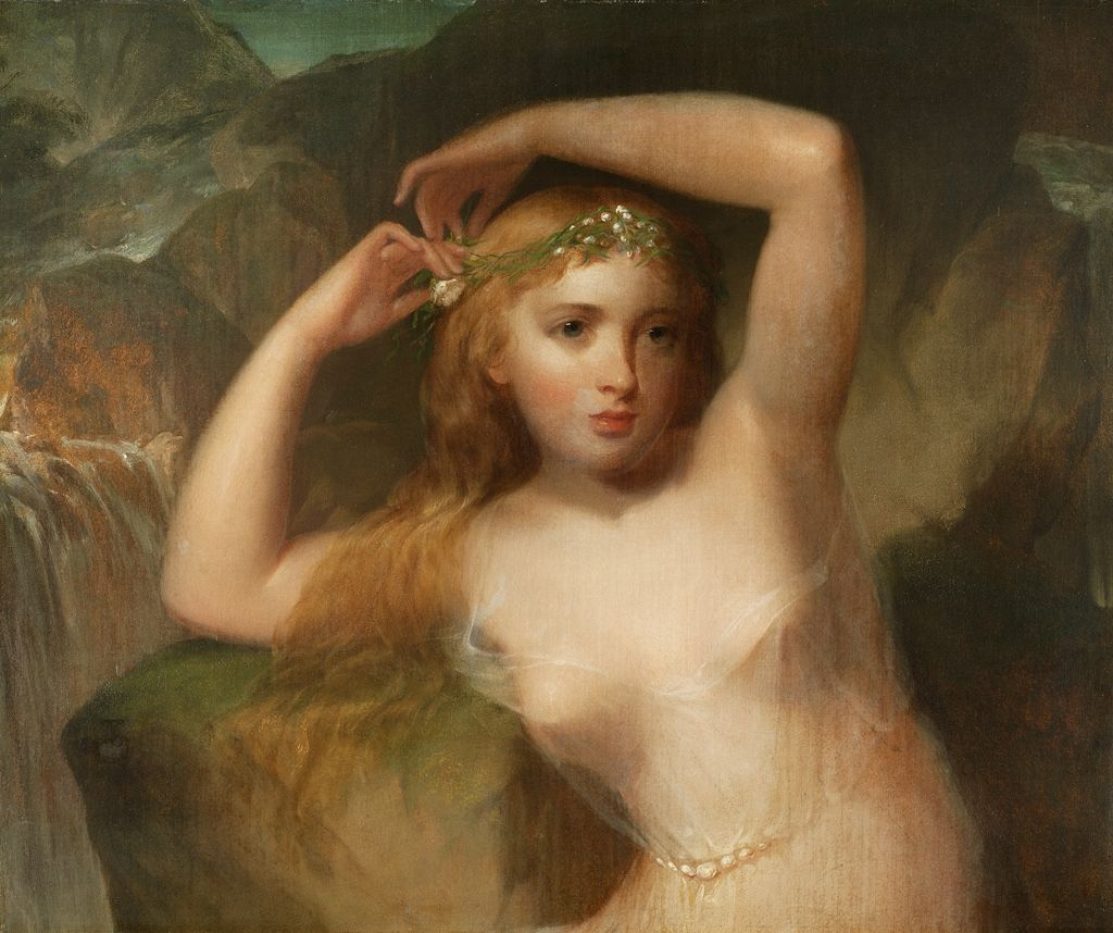 Thomas Sully (1783â€'1872), Sea Nymph, circa 1830-1840s