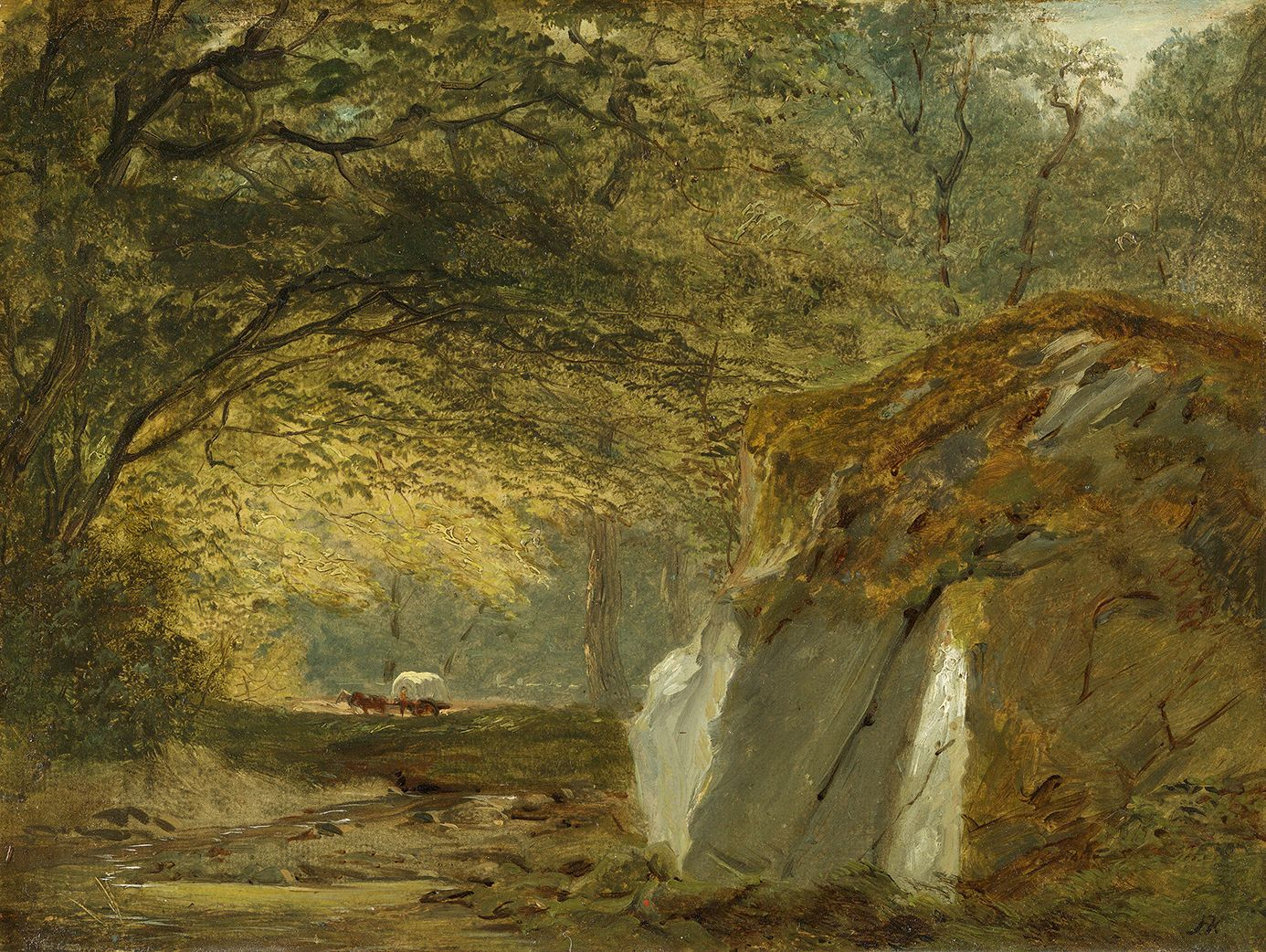 John Frederick Kensett (1818-1872), In the Wilderness, circa 1851-1852