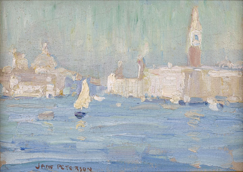 Jane Peterson (1876-1965) , Venice, 1923