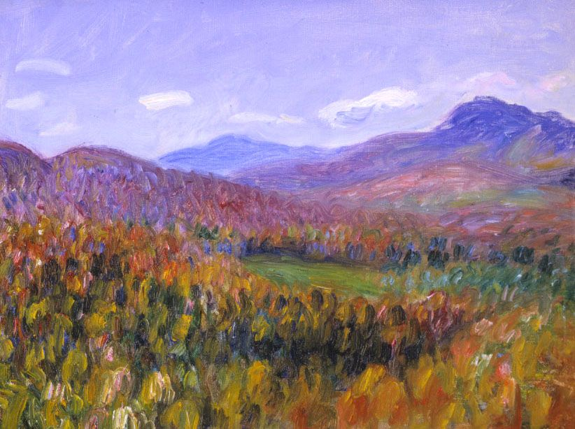 William James Glackens (1870-1938), Foothills of the White Mountains