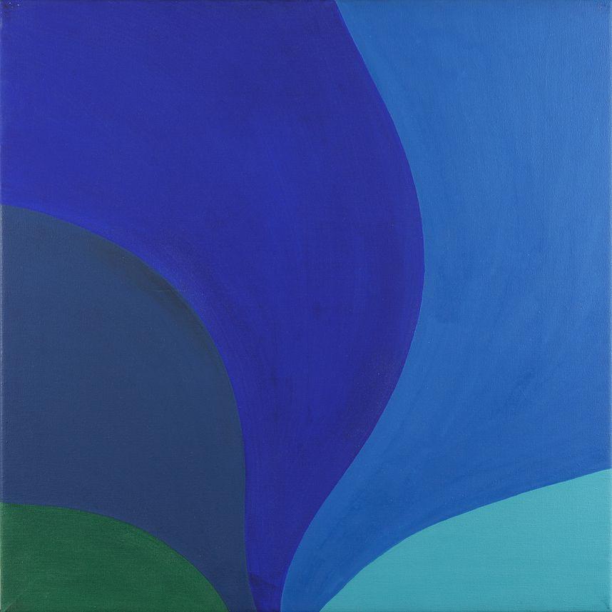 Michael Michaeledes (1927-2015), Blue Variations, 1967