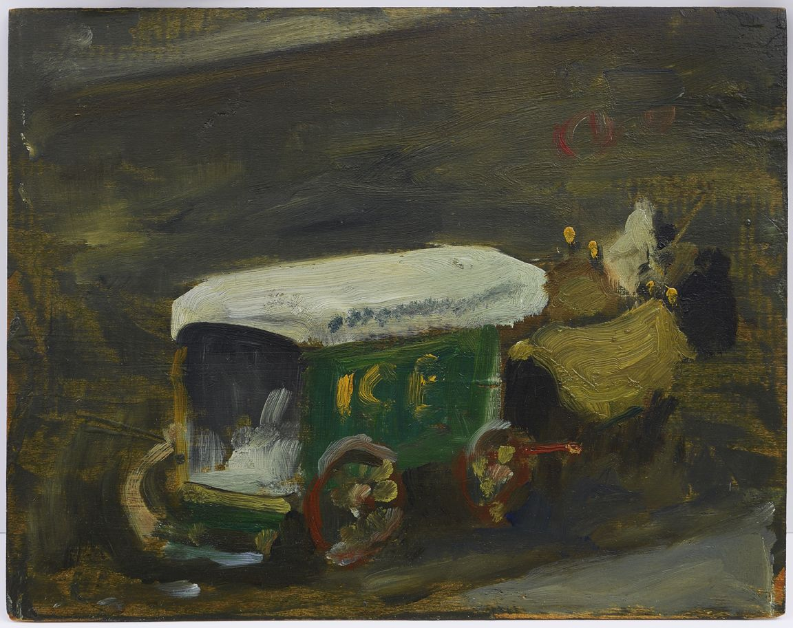 Robert Henri (1865-1929)                                                                        , Ice Wagon in Winter, circa 1900-1903