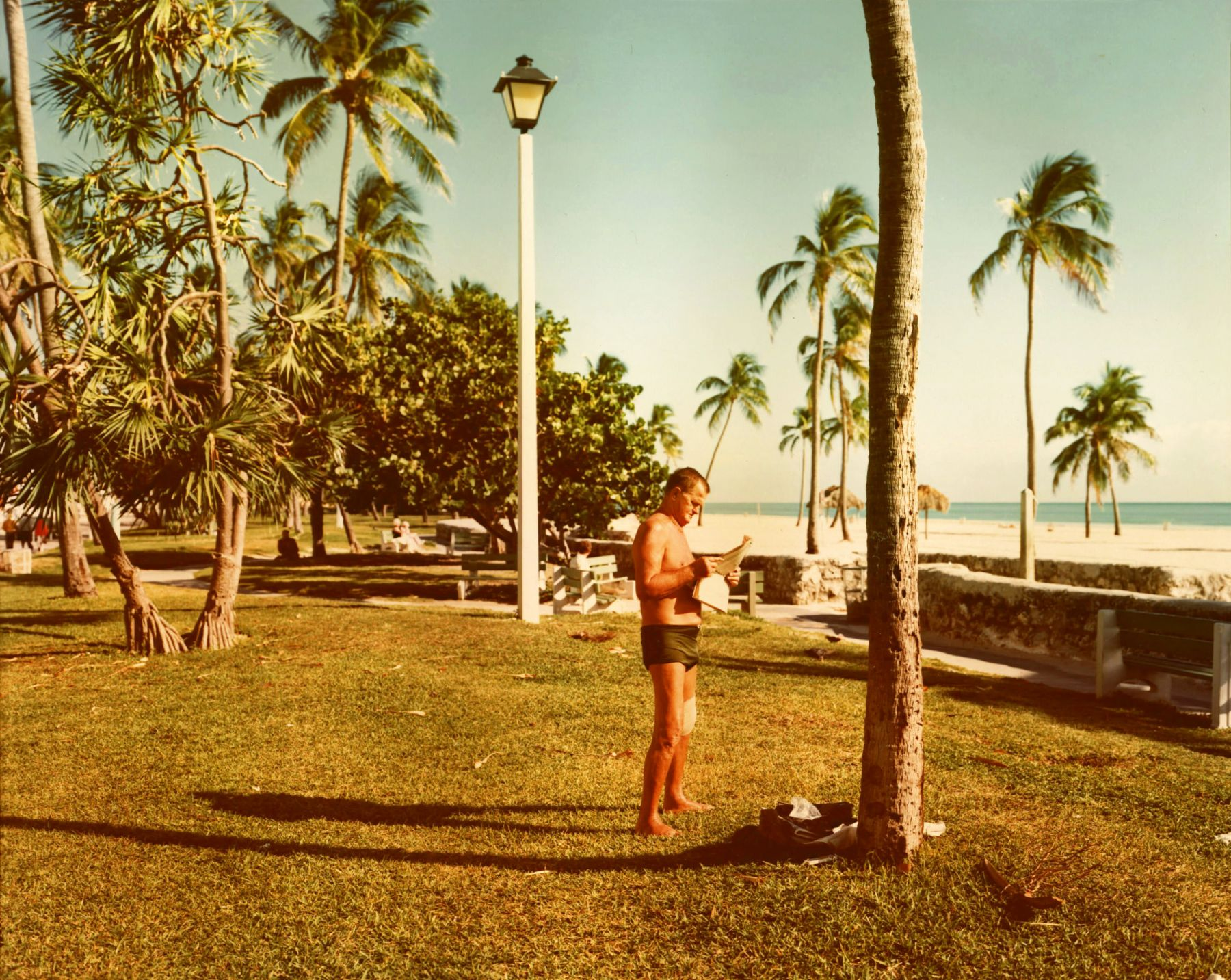 stephen shore Miami Beach, Florida, November 13, 1977