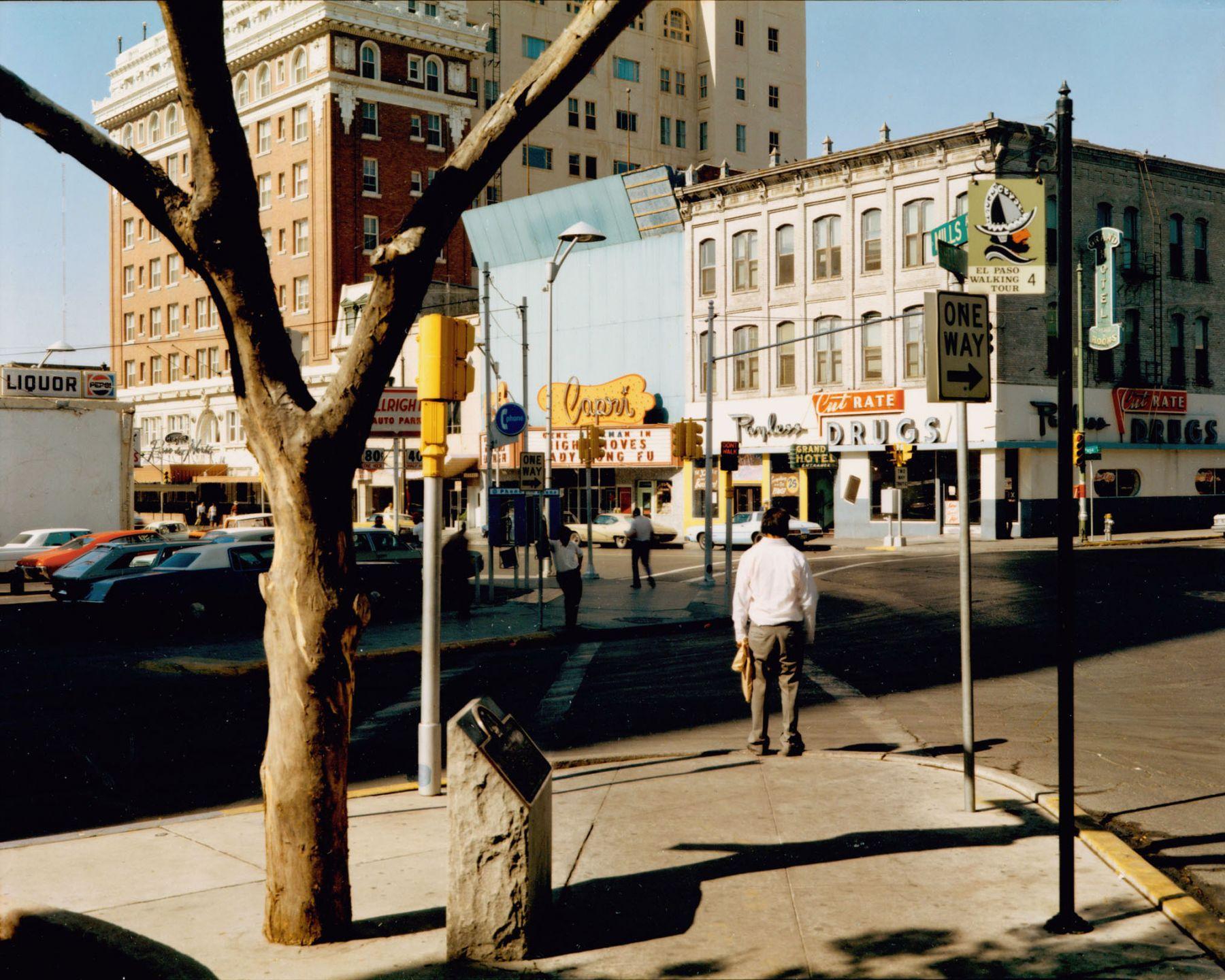 Stephen Shore El Paso Street El Paso Texas July 5, 1975