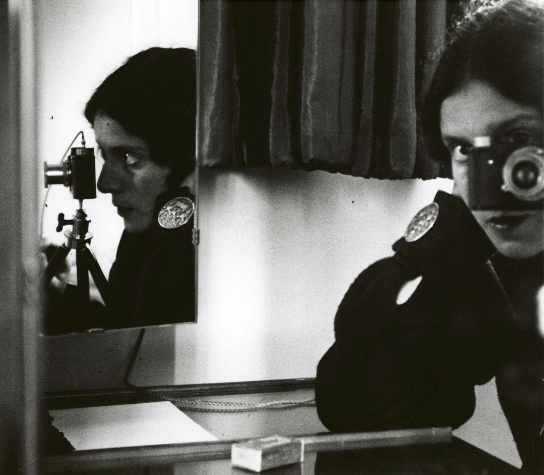 Ilse Bing Self-Portrait with Leica Paris