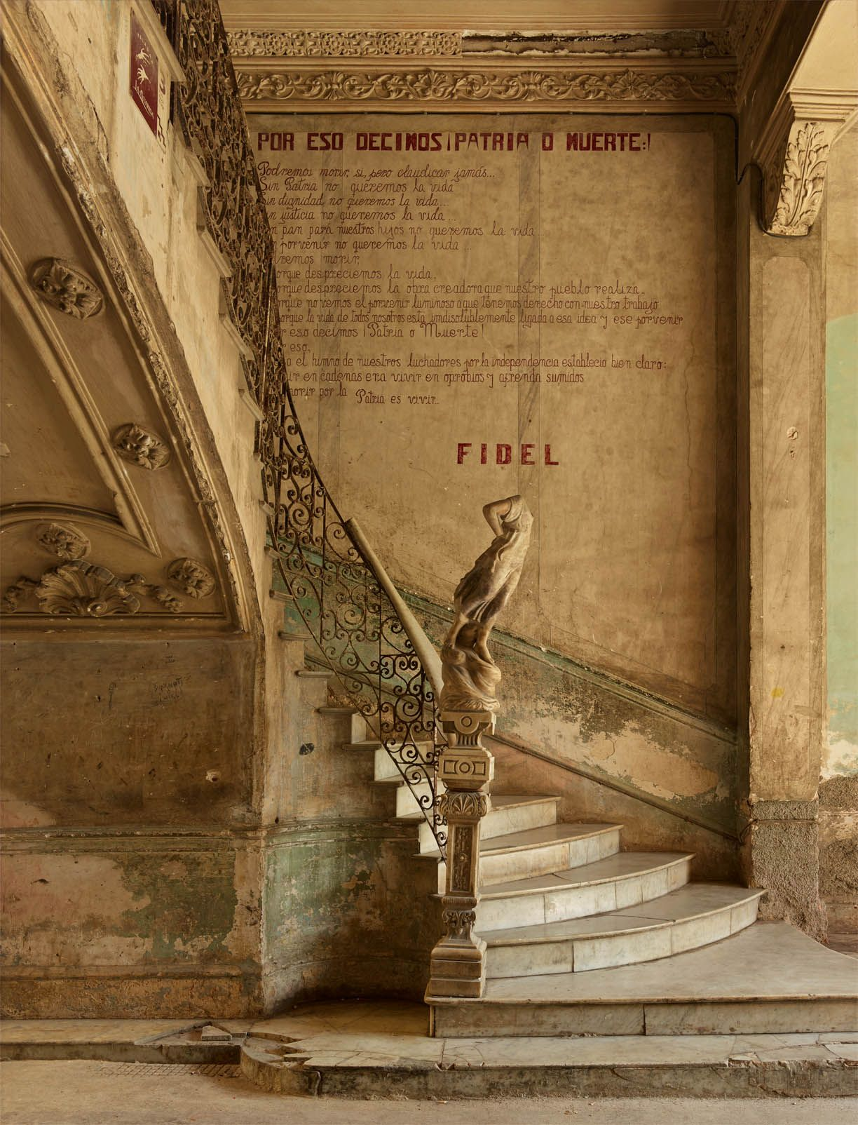 michael eastman fidel's last stairway havana