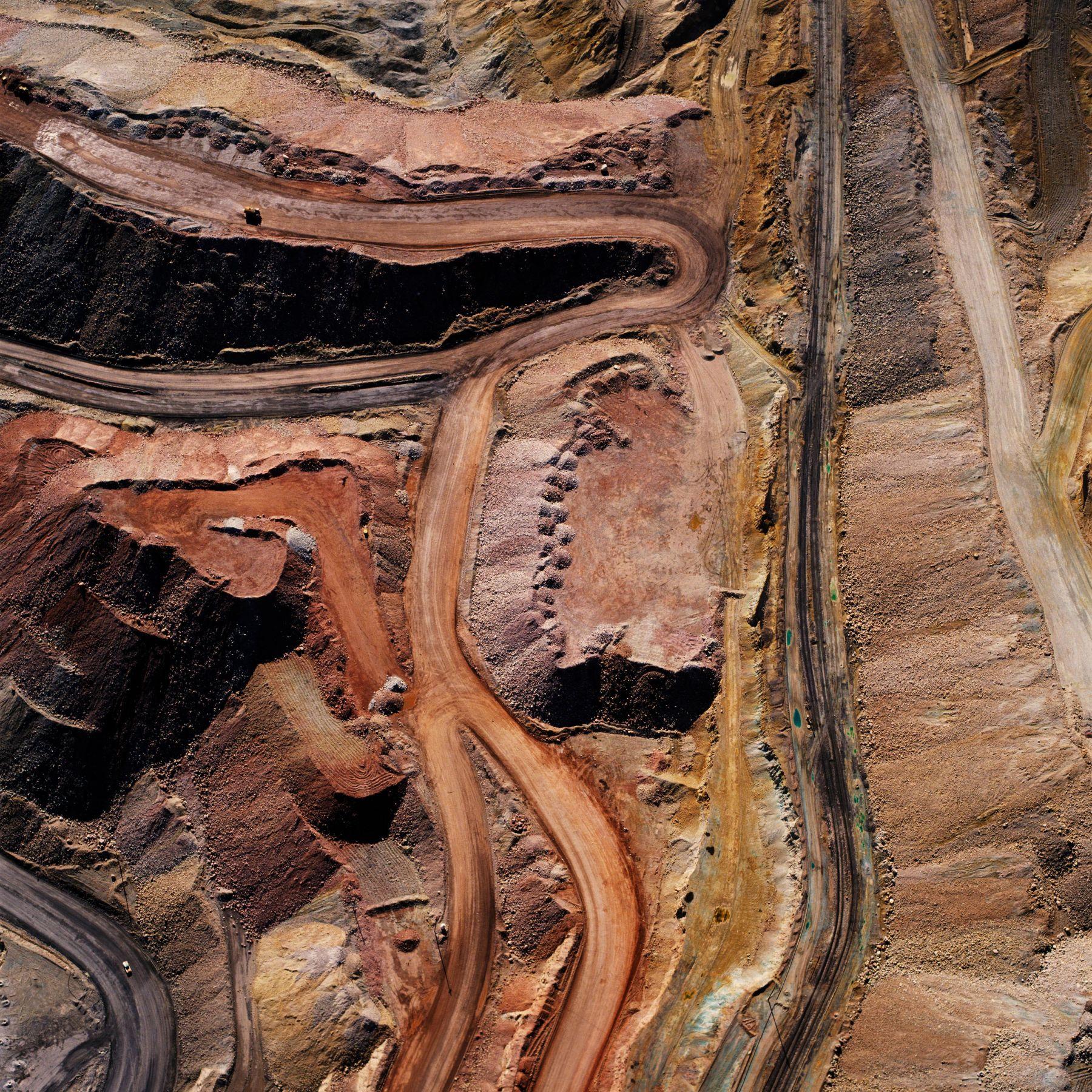 David Maisel, The Mining Project (Inspiration, AZ 1), 1989