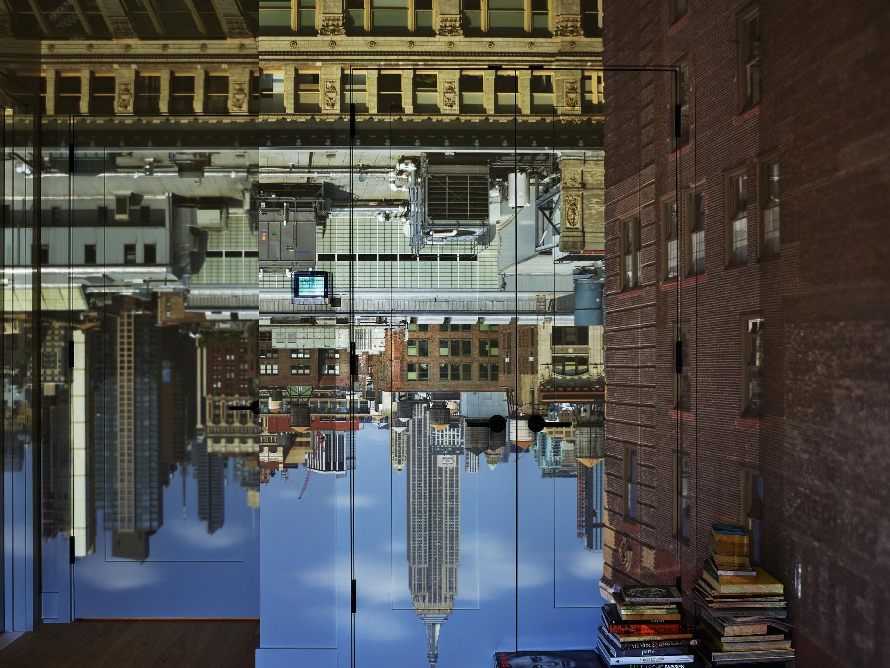 Abelardo Morell, Camera Obscura: View of the Empire State Building in the Afternoon, Looking North, 2018