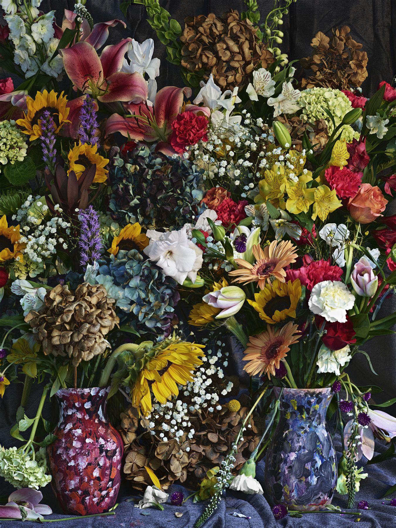 Abelardo Morell Flowers for Lisa #31, 2016