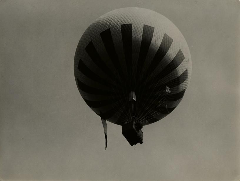 Bill Brandt Balloon Flying over the Northern Suburbs of Paris, 1929
