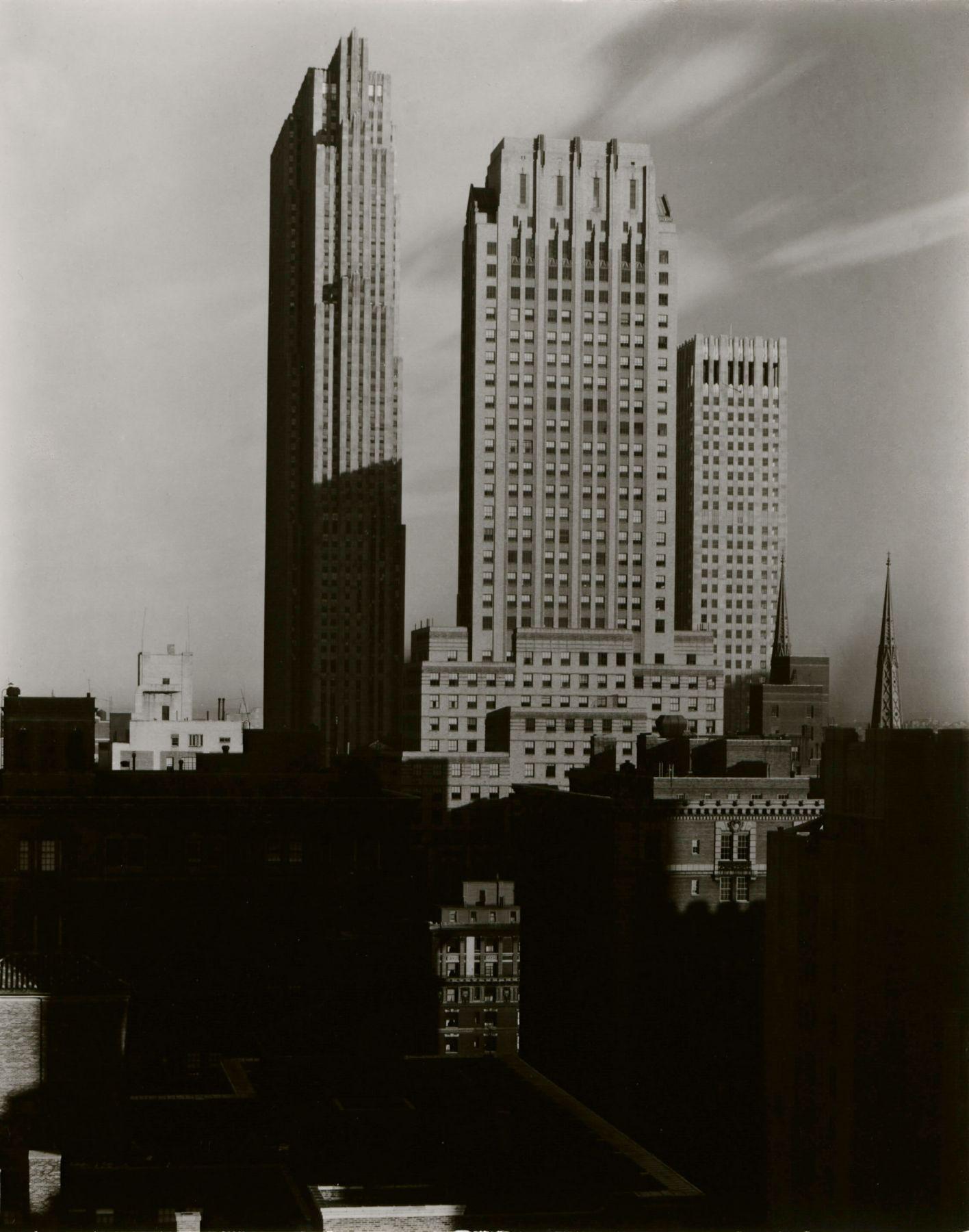 alfred Stieglitz new york, from the shelton