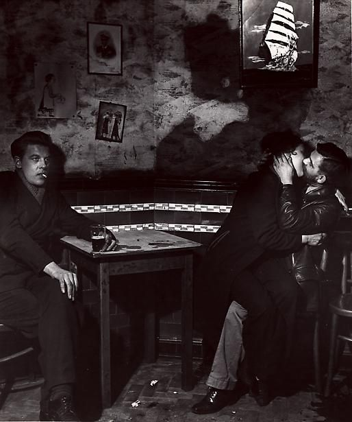 Bill Brandt At Charlie Brown's, Limehouse, 1945