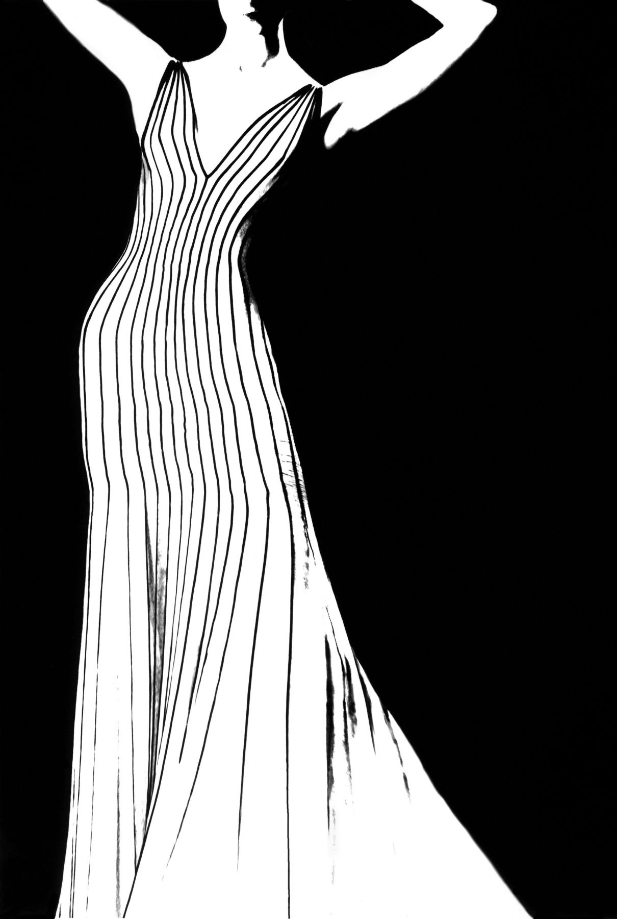 lillian bassman kronung des chic jada dress by thierry mugler