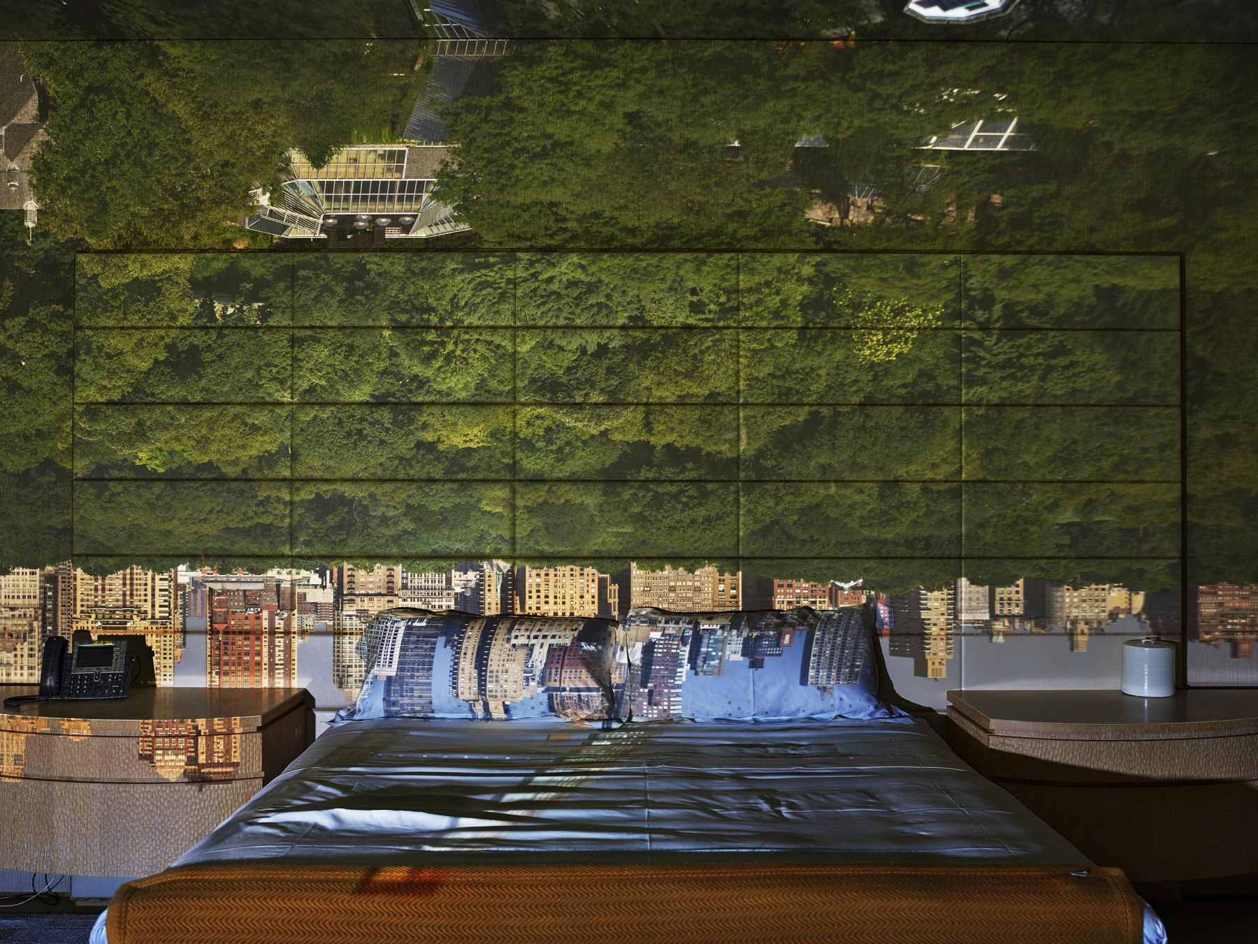 Abelardo Morell, Camera Obscura: View of Central Park Looking West in Bedroom, Summer, 2018