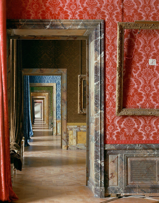 robert polidori Salle la cour a la fin du regne, (84)ANR.02.002, Salles du XVII, Aile du Nord - 1er Etage, Versailles
