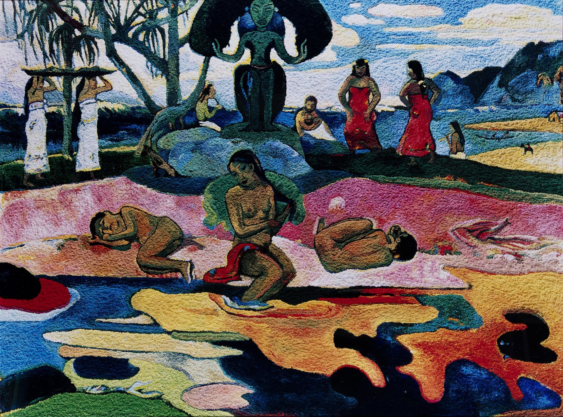 vik muniz Mahana No Atua (Day of the Gods), After Gauguin, from the Pictures of Pigment series