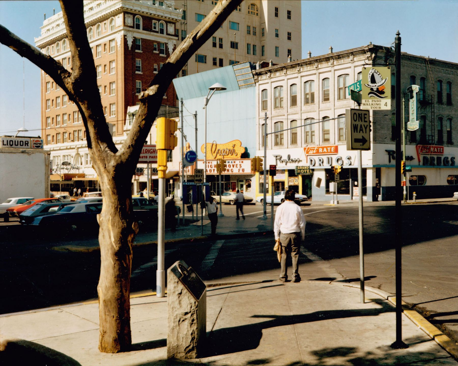 Stephen Shore, El Paso Street, El Paso, Texas, July 5, 1975