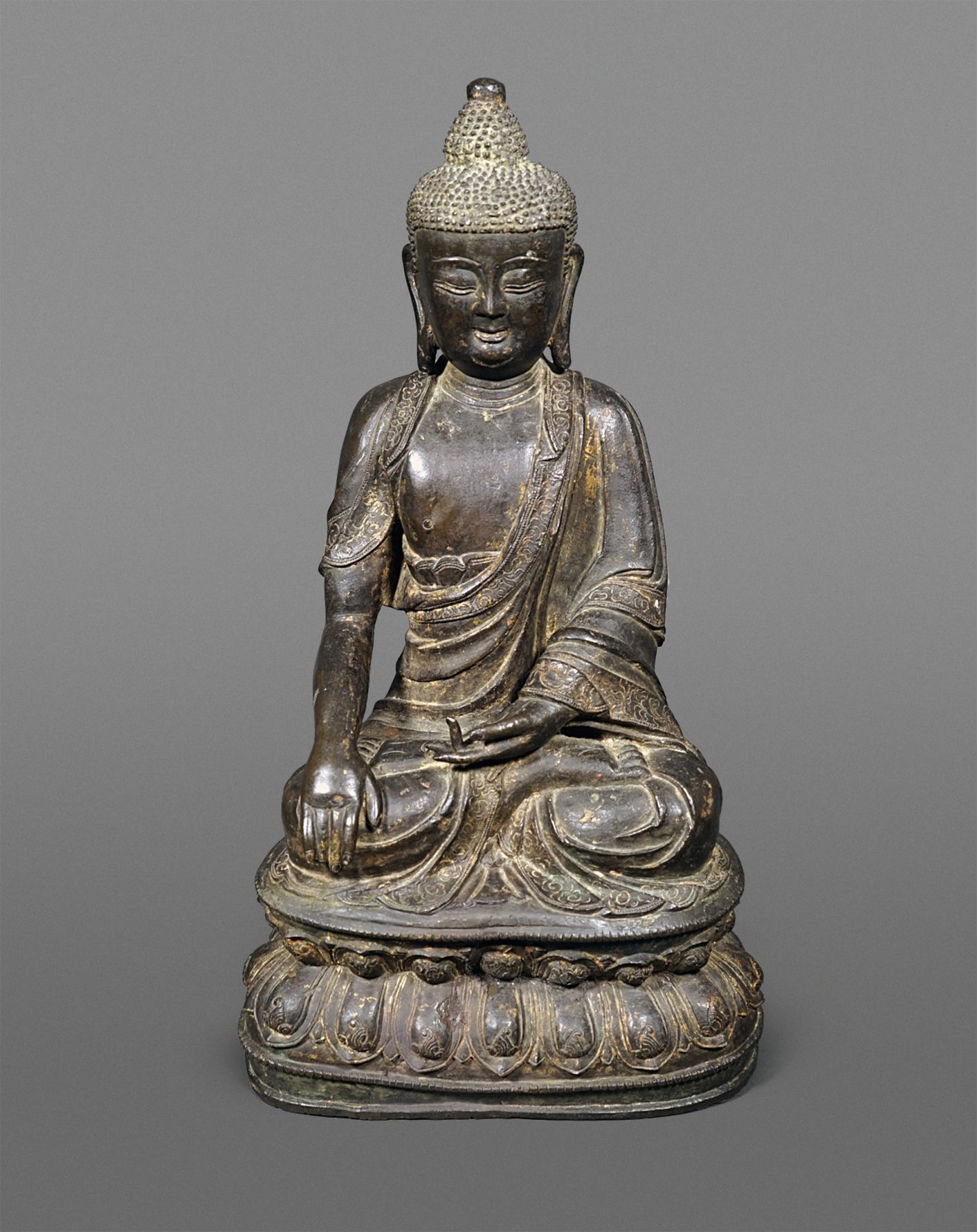 Chinese Bronze Figure of a Buddha