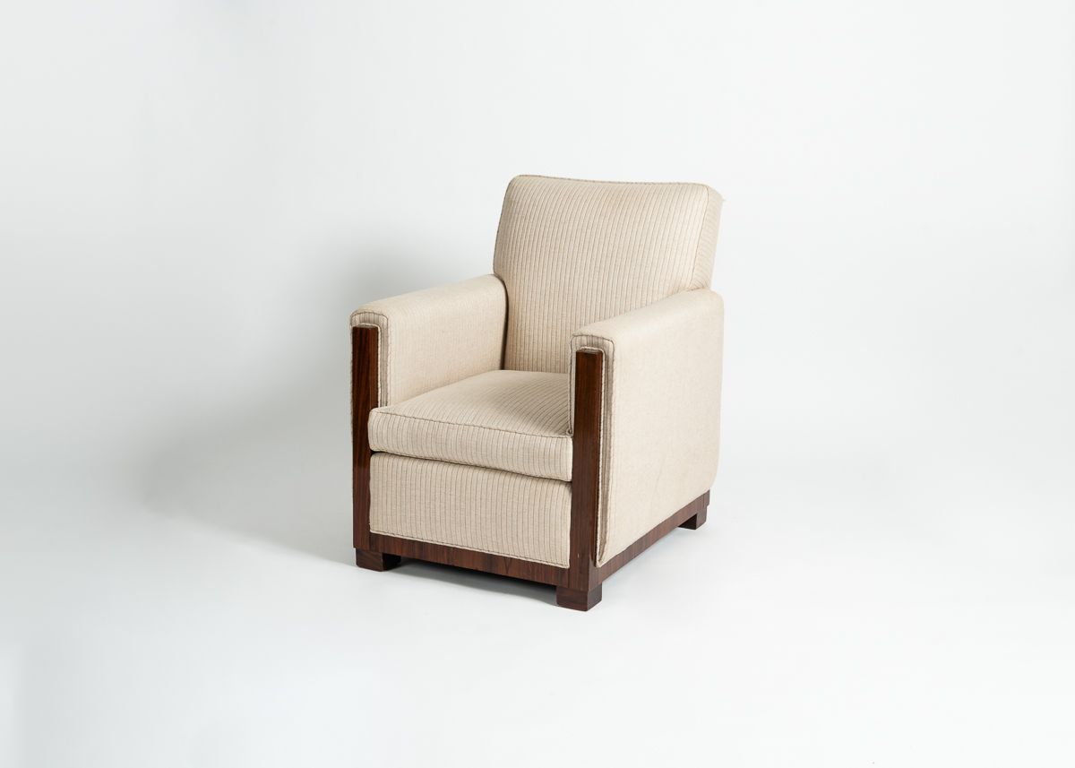 Art Deco Modernist Club Chair