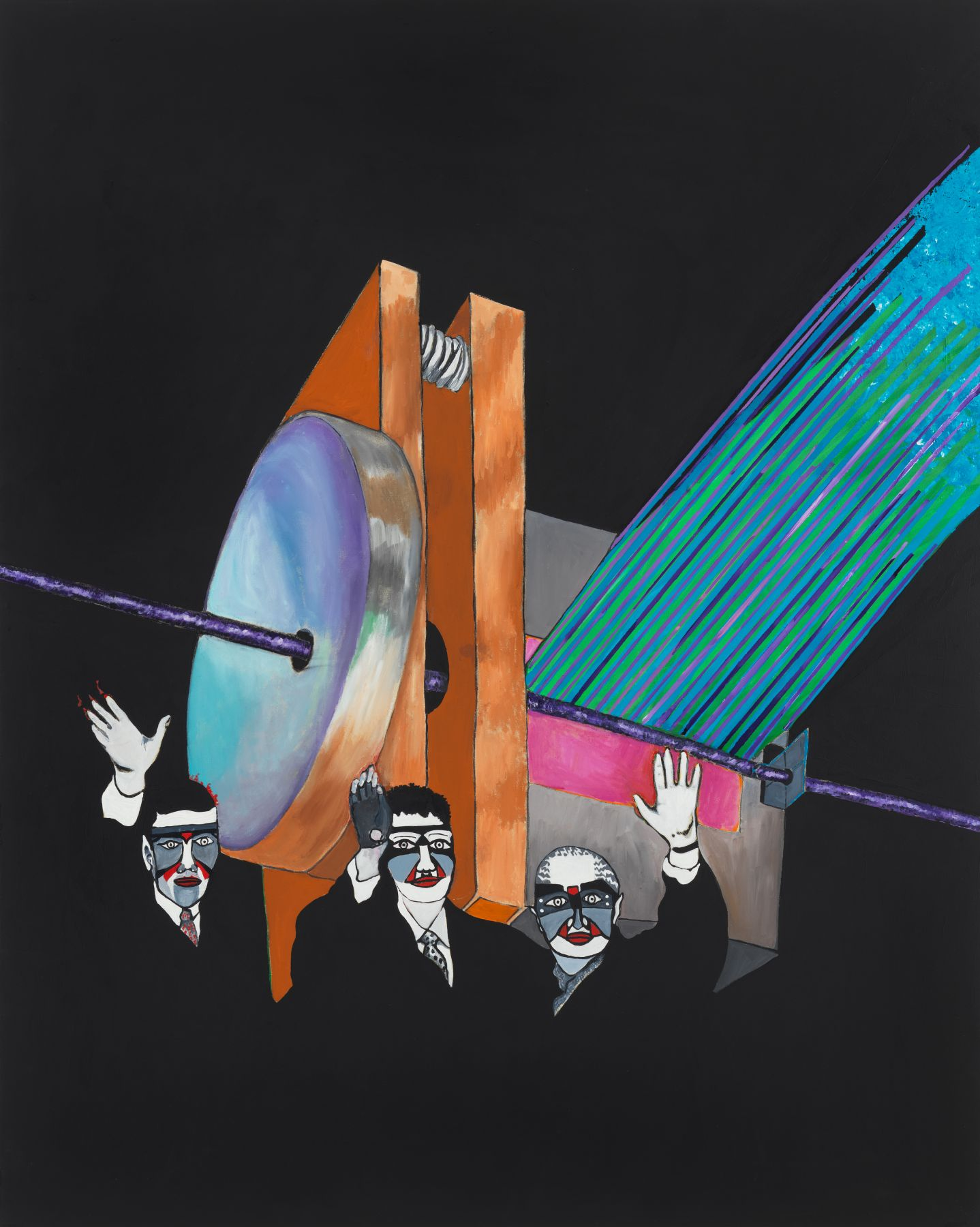 The Machine (Who Art These Masked Men?), 1988