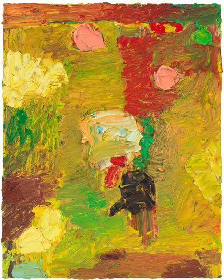 Bild, 2009, Oil on panel
